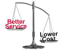 Better service Lower Cost